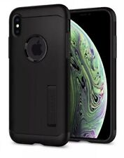 SPIGEN IPHONE XS MAX SLIM ARMOR MILITARY GRADE CASE  BLACK NEW