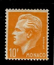 MONACO #259 Prince Rainier III Commemoration MNH VF OG 10F 1951