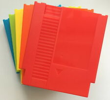 FIVE color 72 Pins Game Cartridge Replacement Plastic Shell For NES