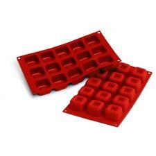 Moule silicone 15 savarins carrés