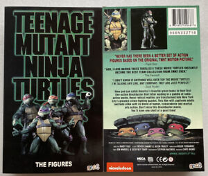 "4-Pack NECA Teenage Mutant Ninja Turtles TMNT 1990 Movie 7"" Action Figure Toys"