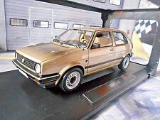 VW Volkswagen Golf 2 MKII CL 1985 beige met. 3 Türer Norev NEU 1:18