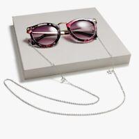 Eyeglass Chain Sunglasses Read Bead Glasses Chain Holder Eyewear Rope Necklace