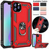 Pour IPHONE 11 Pro Max Chocs Armure Bague Support Coque Support