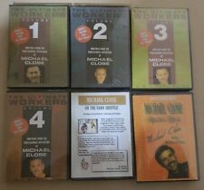 6 DVD Collection Michael Close Magic Series The Ultimate Workers Set and more