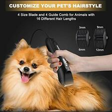 Dog Clippers for Grooming Heavy Duty, Dog Grooming Kit for Cats & Other Animals
