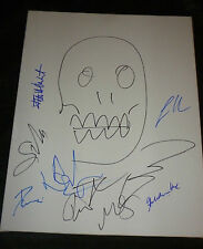 THE WALKING DEAD CAST (x9) Signed/Sketch ROBERT KIRKMAN 16x20 Canvas (A.Lincoln)