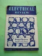 REVISTA - MAGAZINE ELECTRICAL REVIEW