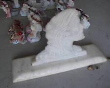 BIG Vintage Marble Moses Statue Bust LOOK