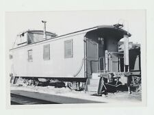 Vtg. Original 1960s Hill City, SD CB&Q Railroad Narrow Gauge Caboose Real Photo