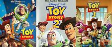Disney Toy Story 1 2 3 Trilogy DVD Movies Complete Collection ( Discs Only )