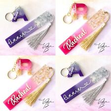 More details for resin bookmark and keyring giftset • personalised • birthday • gift  for reader