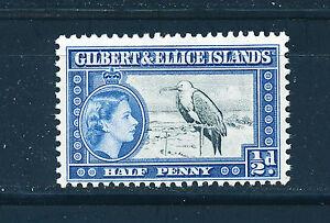 GILBERT & ELLICE ISLANDS 1956 DEFINITIVES SG64 ½d (BIRD)  MNH