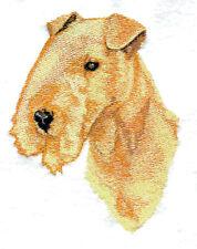 Embroidered Short-Sleeved T-Shirt - Lakeland Terrier Bt3983