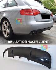 AUDI A4 B8 8K 2007-2012 DIFFUSORE SOTTO PARAURTI POSTERIORE DESIGN S4 RS4