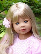 """RARE NIB Masterpiece Dolls """"Coco"""" Blonde Hair BLUE Eyes By Monika Levenig 39"""""""