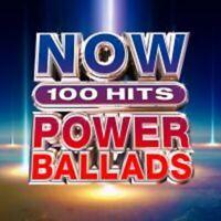 Now 100 Hits Power Ballads - New 6CD Set