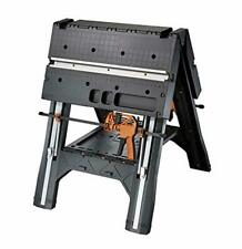 WORX Pegasus Multi-Function Work Table and Sawhorse with Quick Clamps and Holdin