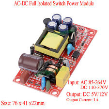 AC-DC 220V to 12V 5V  Dual Output Isolated Switch Power Module Buck Converter