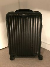 Rimowa Topas Stealth Black Suitcase- Cabin Multiwheel IATA55x40x20cm