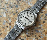 Vintage Seiko Actus SS 21 Jewels Automatic 6306 7010 Kanji November 1976