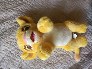 "Disney Lion King Babies Baby Simba Plush Cub Stuffed Toy Doll 8"" soft cuddly!"