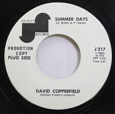 Hear! Rock Promo 45 David Copperfield - Summer Days / Me & My Leslie On Janus