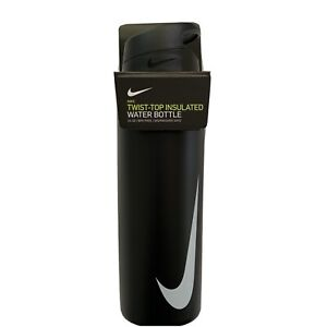 NIKE CHICAGO TWIST TOP INSULATED WATER BOTTLE 24 OZ BPA FREE DISHWASHER SAFE