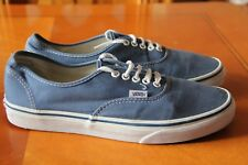 Vans trainers size 8 uk mens in Blue usa mens 9 great condition very clean