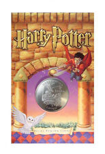"2001 Harry Potter Isle of Man ""Struggling Through Potions""  Crown Coin BU OGP"