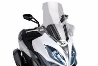 PUIG WINDSHIELD V-TECH LINE TOURING KYMCO XCITING 400i 14-16 CLEAR