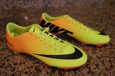 NEW WOMENS NIKE MERCURIAL VAPOR IX SOCCER CLEATS (VIBRANT YELLOW/BLACK/NEO LIME)