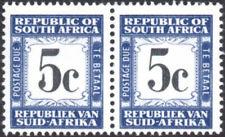"""South Africa Postage Due 1961-9 5c black & grey-blue, SPUR ON """"5"""" SG.D56 UM"""
