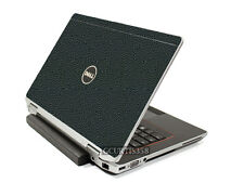 LEATHER Vinyl Lid Skin Cover Decal fits Dell Latitude E6420 Laptop