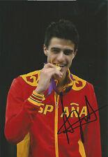 Joel GONZALEZ – ESP - Taekwondo – Olympia 1.OS Gold 2012 Foto signiert