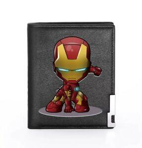 Marvel Avengers Iron Man Wallet Black Billfold