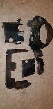 John Deere 318 Onan B43G Engine Flywheel Shroud Cover Tin Set Heat Shields