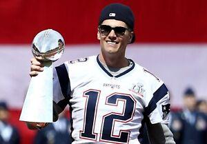 New England Patriots (TOM BRADY) 8x10 Photo Super Bowl Print SEXY ATHLETE