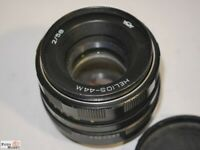 Standardobjektiv Helios-44M 2/58 Objektiv M-42 Gewinde Ø 52 lens
