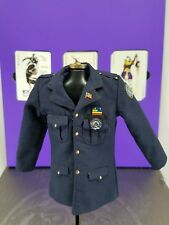 Genuine Hot Toys 1/6 DX01 Batman TDK Joker Heath Ledger Cop uniform coat only!