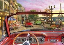 1500 pcs jigsaw puzzle: Paris in Car (Art, France) (EDUCA 16768)