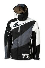 UFO Polar Jacket Black White Coat Casual - X-Large
