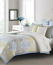 Martha Stewart Cape May 10 Piece QUEEN Comforter Set Bedding Retail $300 E018