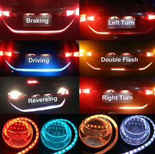 Flow Flash Car LED Tail Brake Reverse Turning Signal Light Strip Bar Trunk Lamp
