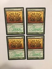 #SHI MTG Magic Signed Doubling Season x1 Modern Masters MMA NM/NM-(by The Artist