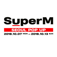 SM Artist [ SuperM ] in SEOUL POP UP STORE OFFICIAL MD EXO NCT SHINee + Tracking