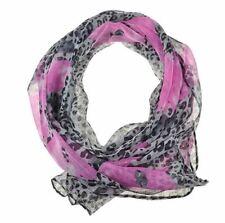 Sciarpe, foulard e scialli da donna grigia floreale