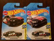 Hot Wheels 2018 Super Treasure Hunt 2015 Ford Mustang GT + Regular *Paint Error*