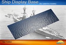 Coastal Kits Ship Display Base for Waterline Models 29 x 12cm #CKS0220