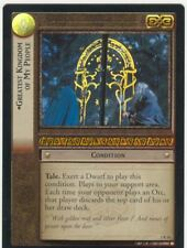 Lord Of The Rings CCG FotR Foil Card 1.R16 Greatest Kingdom Of My People
